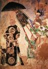 人物名画0068,人物名画,中华文化,君王 出巡 气派