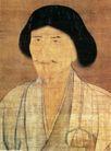 人物名画0069,人物名画,中华文化,智者 帽子 胡须