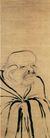 人物名画0082,人物名画,中华文化,老人 神情 奇特
