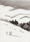 古代风景0069,古代风景,中华文化,雪地 雪景 美景