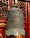 钟鼎器皿0051,钟鼎器皿,中华文化,文化瑰宝 大钟 红漆门