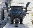 钟鼎器皿0078,钟鼎器皿,中华文化,三脚 香炉 鼎立