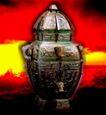 青铜艺术0089,青铜艺术,中华文化,衬托 古老 文明