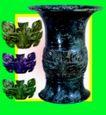 青铜艺术0097,青铜艺术,中华文化,花瓶 装饰 金属