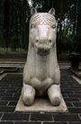 中国雕刻0071,中国雕刻,中华文化,石马 趴下 马朐