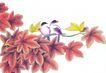 花鸟国画0083,花鸟国画,中华文化,漂亮 生动 活泼