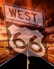 道路0075,道路,交通,戈壁 直达 西部