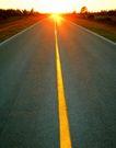 道路0097,道路,交通,夕阳 阳光 山区