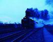火车百科0069,火车百科,交通,浓烟 铁轨 铺设