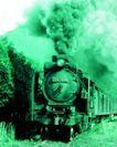 火车百科0113,火车百科,交通,火车头 铁路 浓烟