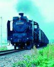 火车百科0116,火车百科,交通,沙石 枕木 车箱