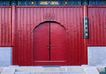 浴室0130,浴室,装饰,庭院 红漆 锁 台阶 大户人家