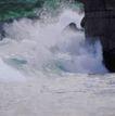 运动水波0025,运动水波,综合,礁石 波浪 澎湃