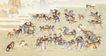 百字迎福0012,百字迎福,综合,猎犬 守护 马群