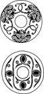 龙案玉纹0293,龙案玉纹,底纹背景,圆 边纹 纹路