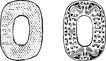 龙案玉纹0296,龙案玉纹,底纹背景,圆 边纹 纹路