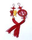 中华玉结0120,中华玉结,喜庆婚姻,红色 玉佩 飘带
