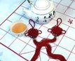 中华玉结0122,中华玉结,喜庆婚姻,象棋 棋盘 茶 茶杯 手工制作