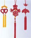 情结贺岁结0069,情结贺岁结,喜庆婚姻,中国结 喜庆 红绳