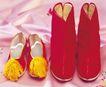 情侣婚姻物品0160,情侣婚姻物品,喜庆婚姻,古代鞋子