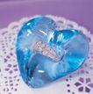 情侣婚姻物品0200,情侣婚姻物品,喜庆婚姻,钻石戒指 蓝色心 海洋