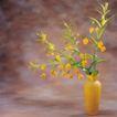 鲜花装饰0072,鲜花装饰,鲜花,黄色 花瓶 插花
