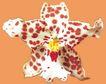 迷人花朵0096,迷人花朵,鲜花,花托 斑点 点缀