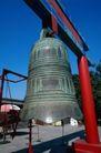 庙宇钟鼎0067,庙宇钟鼎,乐器钟鼎,青铜 器皿 红柱