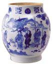 玉饰古董器皿0061,玉饰古董器皿,古玩吉祥,青花瓷 花纹 人物