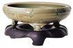玉饰古董器皿0072,玉饰古董器皿,古玩吉祥,玉盆 洗脚 玉器