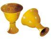 玉饰古董器皿0080,玉饰古董器皿,古玩吉祥,一双 黄色 小酒杯