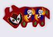 传统工艺0005,传统工艺,古玩吉祥,羊羔 垂头 吃草
