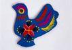 传统工艺0011,传统工艺,古玩吉祥,母鸡 肥大 蓝羽