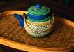 传统工艺0013,传统工艺,古玩吉祥,竹垫 包壶 蒸笼