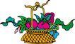 吉祥物品0082,吉祥物品,古玩吉祥,象征 事物 竹篮