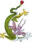 龙纹百龙夺珠0062,龙纹百龙夺珠,古玩吉祥,巨龙 图腾 文化