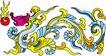 龙纹百龙夺珠0065,龙纹百龙夺珠,古玩吉祥,蛟龙 夺珠 神话