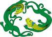 龙纹百龙夺珠0079,龙纹百龙夺珠,古玩吉祥,幼龙 裸体 龙身