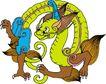 龙纹百龙夺珠0083,龙纹百龙夺珠,古玩吉祥,龙纹 古玩 百龙夺珠