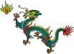 龙纹百龙夺珠0095,龙纹百龙夺珠,古玩吉祥,火球 嬉戏 ,文化