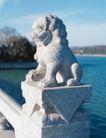 狮艺0065,狮艺,纹饰雕塑,桥梁 湖水 景观