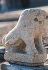 狮艺0077,狮艺,纹饰雕塑,石栏 雕狮 装饰