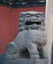 狮艺0099,狮艺,纹饰雕塑,屋子 石狮 威武