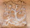 花纹墙饰0045,花纹墙饰,纹饰雕塑,