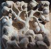 花纹墙饰0061,花纹墙饰,纹饰雕塑,墙纹 石刻 雕像