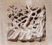 花纹墙饰0069,花纹墙饰,纹饰雕塑,墙板 石壁 图画