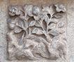 花纹墙饰0071,花纹墙饰,纹饰雕塑,壁雕 花饰 绽放