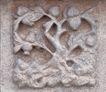 花纹墙饰0082,花纹墙饰,纹饰雕塑,可爱 石壁 墙饰