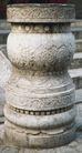 石柱饰0068,石柱饰,纹饰雕塑,台阶 石头 装饰