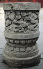 石柱饰0075,石柱饰,纹饰雕塑,祥云 石纹 精细